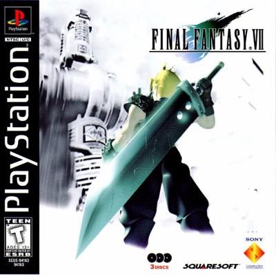 Final Fantasy VII Cover Art