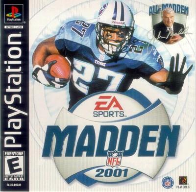Madden NFL 2001 Cover Art