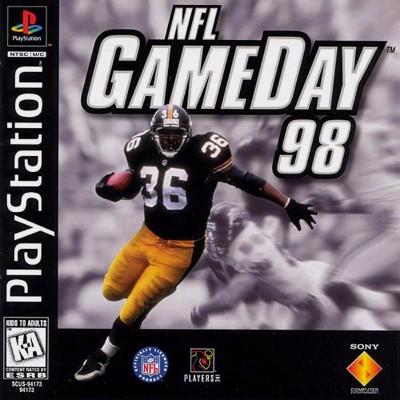 NFL Gameday 98 Cover Art