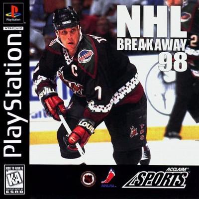 NHL Breakaway 98 Cover Art