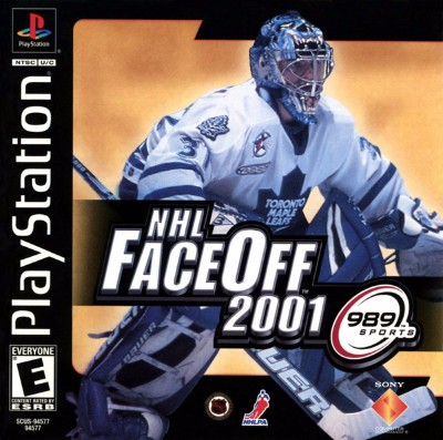 NHL Faceoff 2001 Cover Art