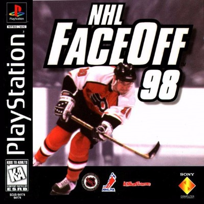 NHL Faceoff 98 Cover Art