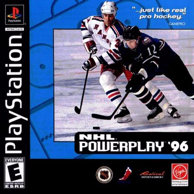 NHL Powerplay 96 Cover Art
