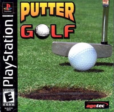 Putter Golf Cover Art