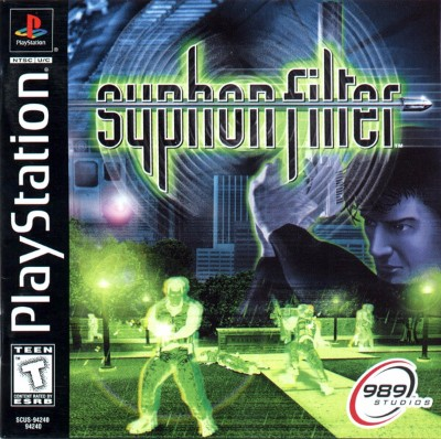 Syphon Filter Cover Art