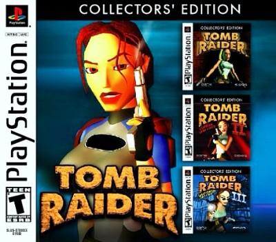 Tomb Raider Collectors Edition Value Price Playstation 1