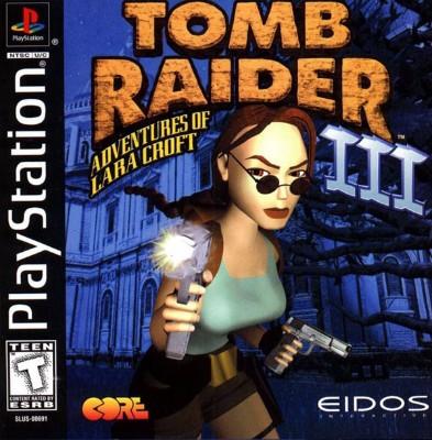Tomb Raider III: Adventures of Lara Croft Cover Art