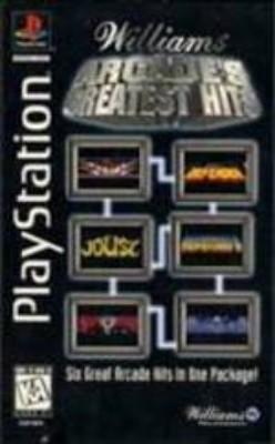 Arcade's Greatest Hits: Williams [Longbox] Cover Art