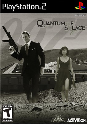 007: Quantum of Solace Cover Art