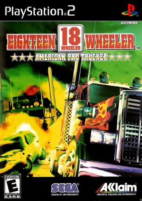 18 Wheeler American Pro Trucker Cover Art
