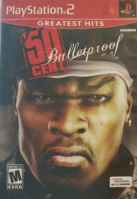 50 Cent: Bulletproof [Greatest Hits] Cover Art