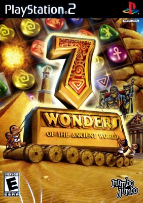 7 Wonders of the Ancient World Cover Art