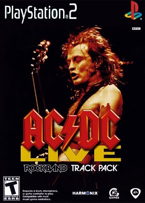 AC/DC Live Rock Band Track Pack Cover Art