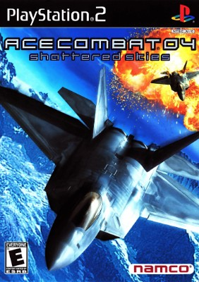 Ace Combat 04: Shattered Skies Cover Art