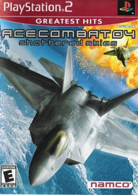 Ace Combat 04: Shattered Skies [Greatest Hits] Cover Art