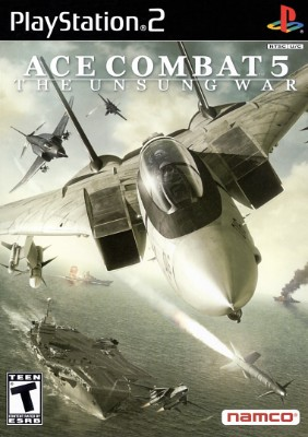 Ace Combat 5: The Unsung War Cover Art