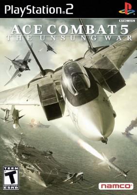 Ace Combat 5: The Unsung War Cover Art