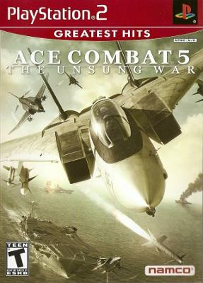 Ace Combat 5: The Unsung War [Greatest Hits] Cover Art