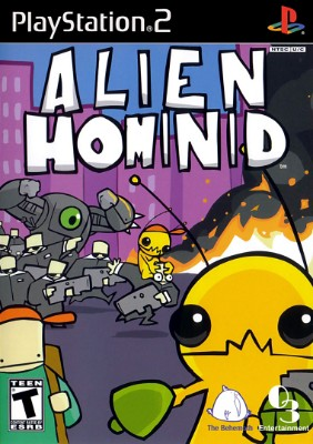 Alien Hominid Cover Art