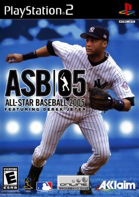 All-Star Baseball 2005 Cover Art