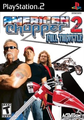 American Chopper 2: Full Throttle Cover Art