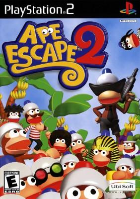 Ape Escape 2 Cover Art