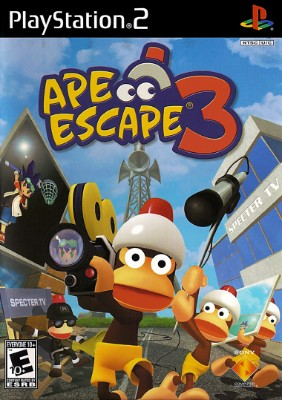 Ape Escape 3 Cover Art