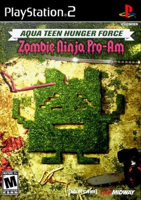 Aqua Teen Hunger Force: Zombie Ninja Pro-Am Cover Art