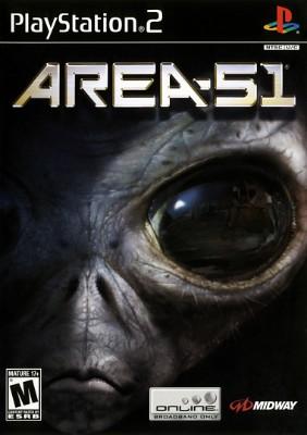 Area 51 Cover Art