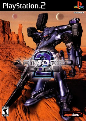 Armored Core 2 Cover Art