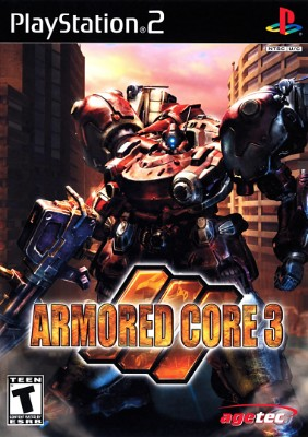 Armored Core 3 Cover Art