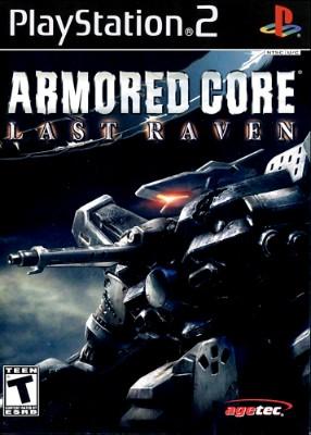Armored Core Last Raven Cover Art