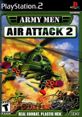 Army Men Air Attack 2 Cover Art