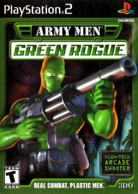 Army Men Green Rogue Cover Art