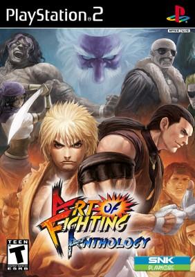 Art of Fighting Anthology Cover Art