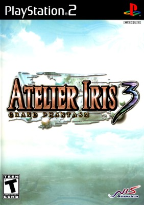 Atelier Iris 3: Grand Phantasm Cover Art