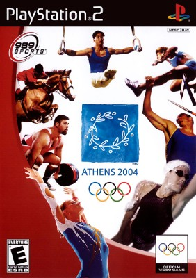 Athens 2004 Cover Art