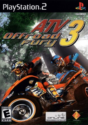 ATV Offroad Fury 3 Cover Art