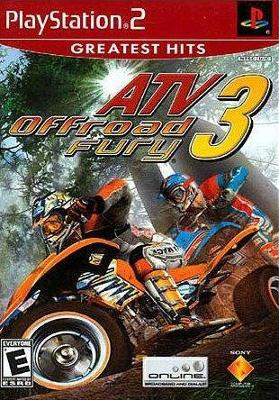 ATV Offroad Fury 3 [Greatest Hits] Cover Art