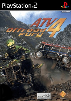 ATV Offroad Fury 4 Cover Art
