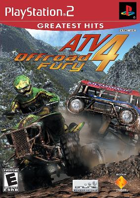 ATV Offroad Fury 4 [Greatest Hits] Cover Art
