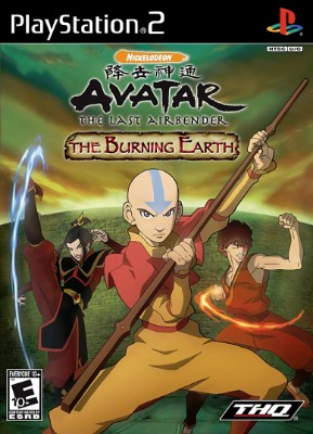 Avatar: The Last Airbender: The Burning Earth Cover Art