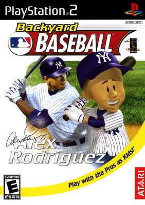Backyard Baseball Cover Art