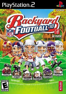 Backyard Football 10 Cover Art