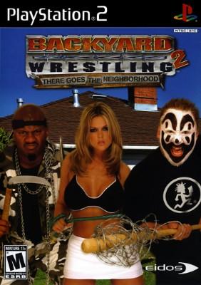Backyard Wrestling 2 Cover Art