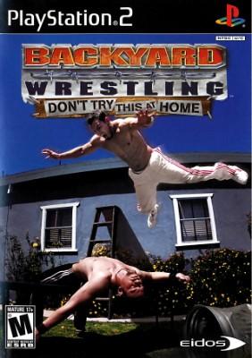 Backyard Wrestling Cover Art
