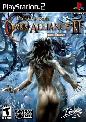 Baldur's Gate Dark Alliance 2 Cover Art