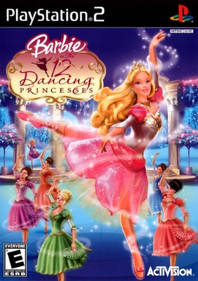 Barbie In The 12 Dancing Princesses Cover Art