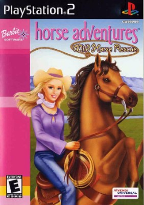Barbie Horse Adventures: Wild Horse Rescue Cover Art