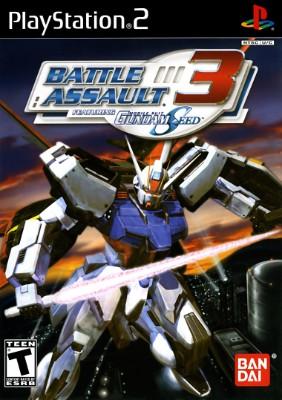Battle Assault 3 Featuring Mobile Suit Gundam SEED Cover Art
